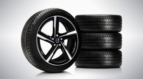 "V40 ""Ixion II"" 7.5 x 18 wheel & tyre x4 package"